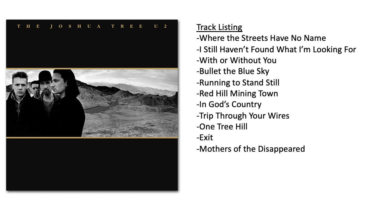 The Joshua Tree – U2 | Jason S Steele
