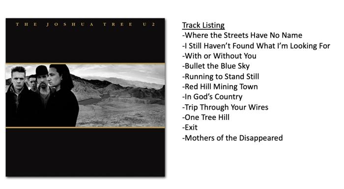 The Joshua Tree – U2   Jason S Steele